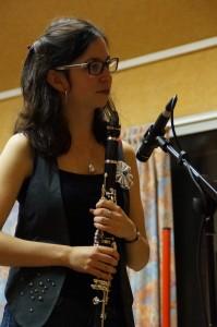 Claire, clarinette