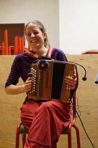 Irène, accordéon diatonique